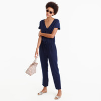 Relaxed jumpsuit in Tencel-linen : Women jumpsuits & rompers | J.Crew