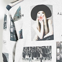 City Graphic Sweatshirt | Forever 21 - 2000153670