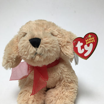 Ty Beanie Baby Pudding Puppy Dog