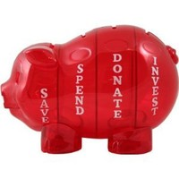 Amazon.com: Money Savvy Pig - Red: Toys & Games