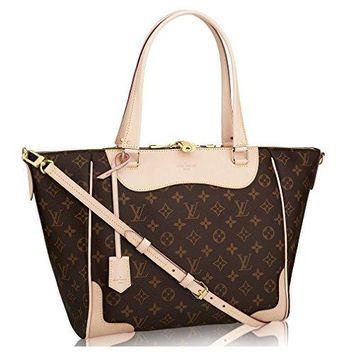 Authentic Louis Vuitton Monogram Canvas Estrela Handbag Beige Article: M51191 Made in France