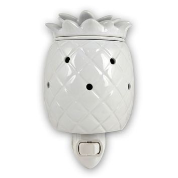 SONOMA life + style Pineapple Outlet Wax Warmer (White)