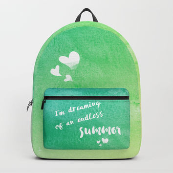 Endless summer Backpack by edrawings38