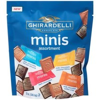 Ghirardelli Chocolate Minis Assortment, 12 oz - Walmart.com