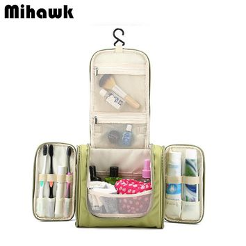 Hanging Women's & Men's Cosmetic Bag Makeup Cases Pouch Toiletry Storage Organizer
