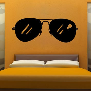 Vinyl Wall Decal Sticker Aviators #OS_MB1105
