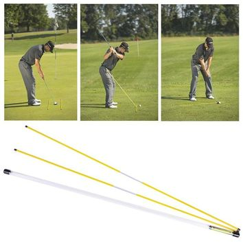 Golf Traning Practice Alignment Sticks, Drills Ball Position Swing Plane Target