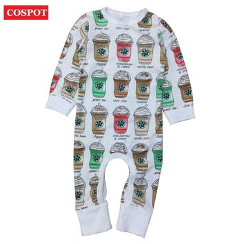 COSPOT 2018 New Baby Girls Boys Romper Spring Long Sleeved Newborns Infant Bebes Jumpsuits Body Suits Jumper Pajamas Clothes D35