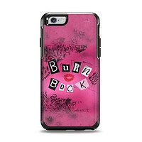 The Burn Book Pink Apple iPhone 6 Otterbox Symmetry Case Skin Set