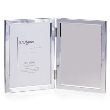 Silver Plated Picture Frame with Engraving Plate
