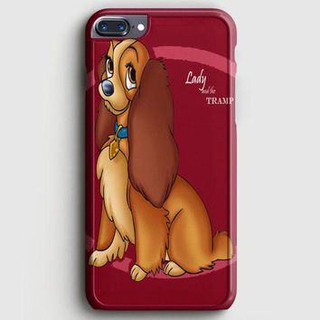 Lady And The Tramp Disney Dog Cartoon iPhone 7 Plus Case