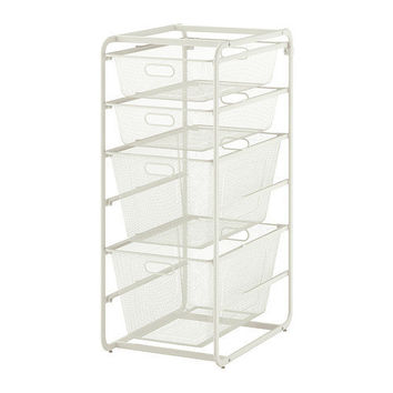 ALGOT Frame with 4 mesh baskets - IKEA