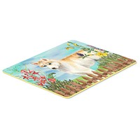 Siberian Husky Spring Kitchen or Bath Mat 24x36 CK1217JCMT