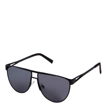 Flat Top Metal Aviator Sunglasses | Topshop
