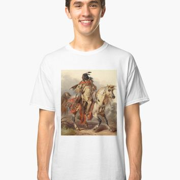 'BLACKFOOT INDIAN' Graphic T-Shirt by IMPACTEES