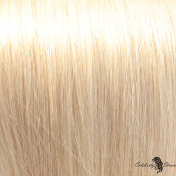 "18"" Clip In Remy Hair Extensions: Monroe Blonde No. 613"