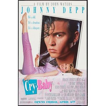 Crybaby poster Johnny Depp 11inx17in poster