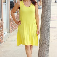 Hello to Summer Dress ~ Yellow