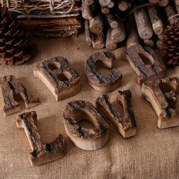 Creative Home Decoration Wood Craft Antique Imitation Wooden Letters Model Series For Home Hotel Bar Shops Decor L9343482
