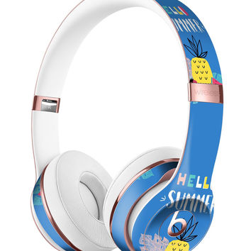 Hello Summer Love v1 Full-Body Skin Kit for the Beats by Dre Solo 3 Wireless Headphones