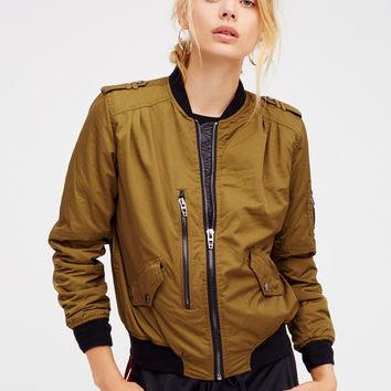 Free People She's A Toad Bomber