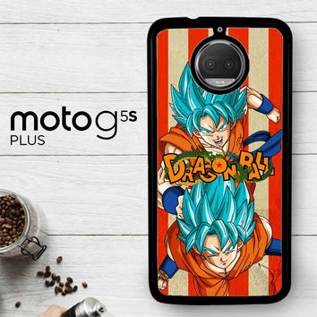 Son Goku Super Saiyan God Blue Z2614  Motorola Moto G5S Plus Case