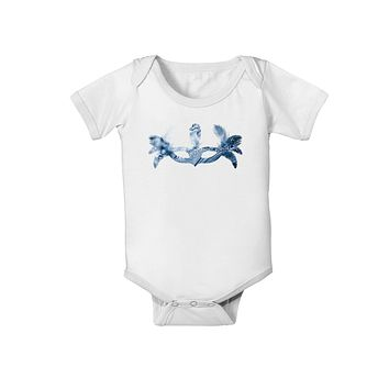Water Masquerade Mask Baby Romper Bodysuit by TooLoud