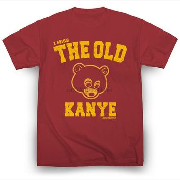 I Miss the Old Kanye West T-Shirt Hip-Hop Kim Kardashian Kendrick Lamar Drake