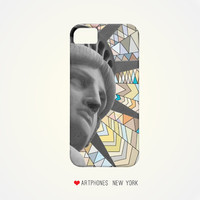 Statue of Liberty NYC Phone Case iPhone 5 5c case 4 4/s case Samsung Note 2 phone case Samsung Galaxy S3 S4 NYC case new york statue case