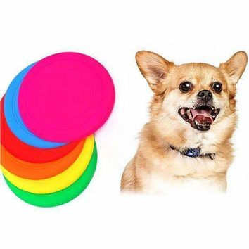 HOT New Pet Frisbee Chew Dog Toys Flying Disc High Quality Resistant Outdoor Large Dog Training Fetch Toys Pet supplies
