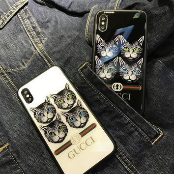 GUCCI 2018 Hot ! iPhone X iPhone 87 plus - Stylish Cute On Sale Hot Deal Apple Matte Couple Phone Case For iphone 6 6s 6plus 6s plus