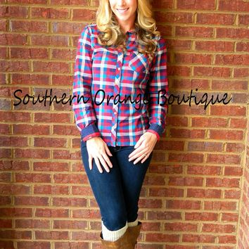 Southern Girl Plaid
