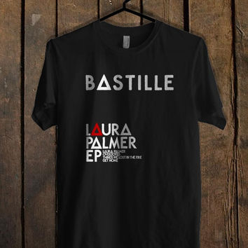 Bastille Laura Palmer T Shirt  Mens T shirt and Womens T shirt *