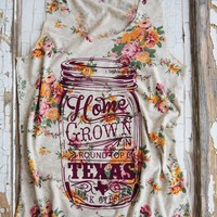 TANK HOMEGROWN FLORAL - Junk GYpSy co.