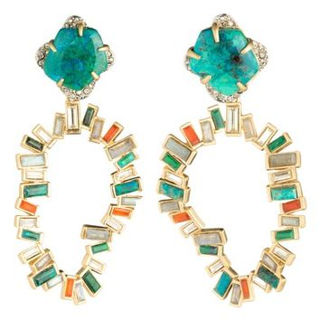 Alexis Bittar Dancing Baguette Large Clip Earrings | Nordstrom