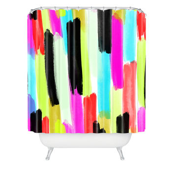 Rebecca Allen So Long Winter Shower Curtain