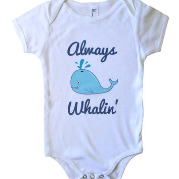 Always Whalin' Onesuit