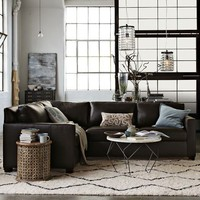 Henry 3-Piece Sectional - Leather
