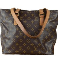 Louis Vuitton Monogram Canvas Cabas Piano Tote Bag
