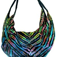 Large Handmade Tie Dye Handbag Purse By Original Collections