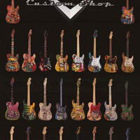 Fender Guitars Dream Factory Poster 24x36