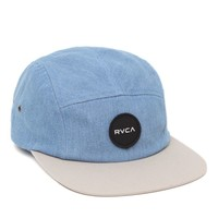 RVCA Twelve Ounce 5 Panel Hat - Mens Backpack - Blue - One