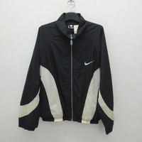 Nike Color Block Windbreaker Vintage Nike Jacket 90s Nike Color Block Jacket Nike Nylon Windbreaker Mens Size L