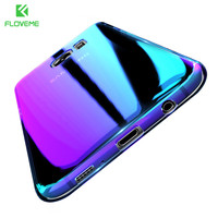 FLOVEME Changing Color Case For Samsung Galaxy S8 Case S8+ S7 S6 Edge Plating Gradual Cover For iPhone 7 6 5 Xiaomi Mi5 6 Huawei