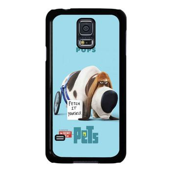 The Secret Life Of Pets Pops Poster Samsung Galaxy S5 Case