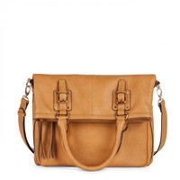 Sole Societycharlie Foldover Messenger