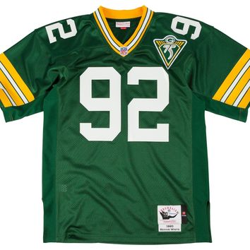 Mitchell & Ness Green Bay Packers 1993 Reggie White Authentic Throwback Jersey