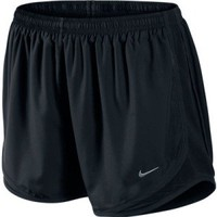 Women's Nike Tempo Track Running Shorts All Black at Sport Seasons