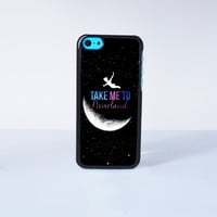 Peter Pan Take Me To Neverland  Plastic Case Cover for Apple iPhone 5C 6 Plus 6 5S 5 4 4s