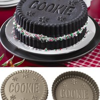 Cookie Sandwich Shaped Cake Pans By Collections Etc